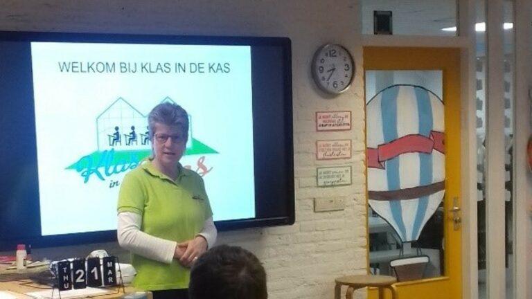 Penningmeester Marja van den Berg