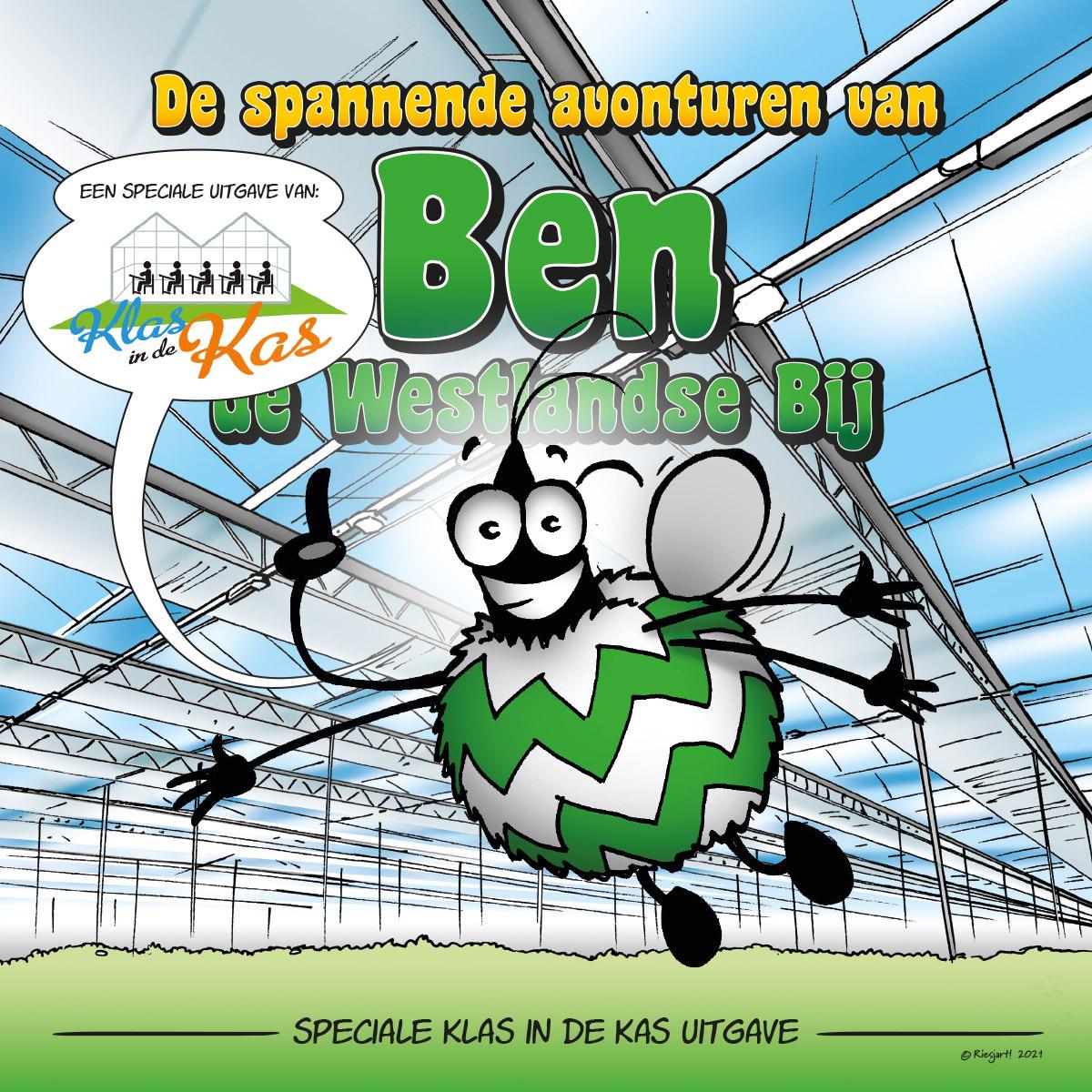 Read more about the article Uniek stripboek van Ben de Westlandse Bij